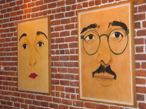 Julius and Ethel Rosenberg, Copyright 2005, Rupert Garcia